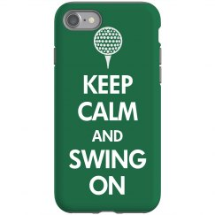 Keep Calm Swing On Golf