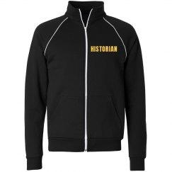 Historian track jacket