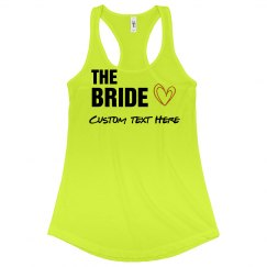 Custom Bride Bachelorette Tanks