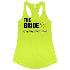 Custom Bride Bachelorette Tanks