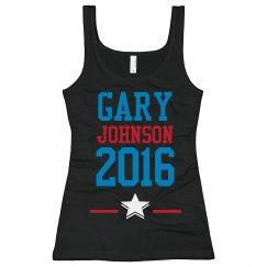 Gary Johnson 2016 Tank