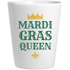 Mardi Gras Drinking Queen