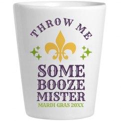 Throw Me Some Booze Mr Mardi Gras