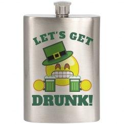 Getting Irish Drunk Emoji