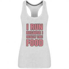 I Run Cause I Like Food