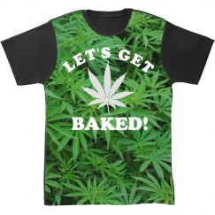 Get Baked All Over Print T-Shirt