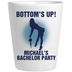 Bottom's Up Bachelor Shot