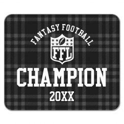 Custom Year Fantasy Football League Champion Prize