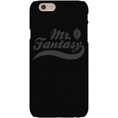 Mr. Fantasy Football Champion Prize Black on Black Case