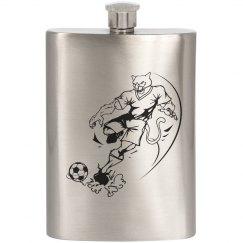 Cougar/Soccer Flask