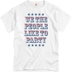 We the People Like Party
