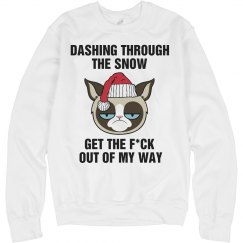 A Grumpy Cat Jingle Bells