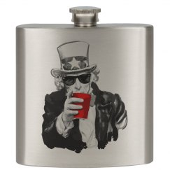 Uncle Sam Flask