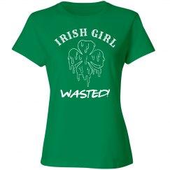 Irish Girl Wasted