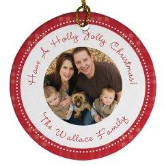 Custom Family Photo Christmas