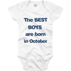 Best boys born in October