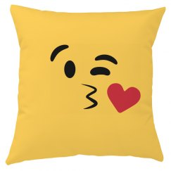 All Over Print Emoji Kiss Right