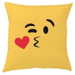 All Over Print Emoji Kiss Left