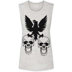 Bird and Skulls