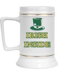 Irish Inside St. Patricks Drinkware