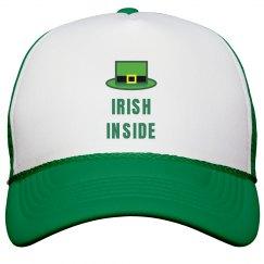 Irish Inside St. Patricks Hat