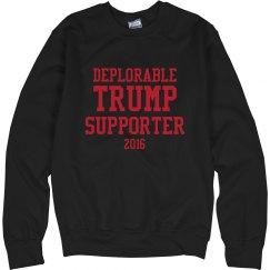 Trump's Deplorable Supporter