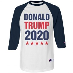 Donald Trump Raglan