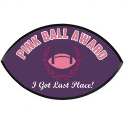 Last Place Pink Ball