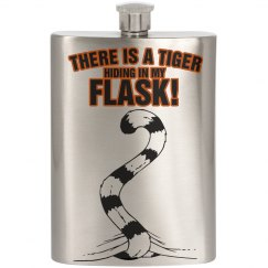 Tiger Hiding In My Flask