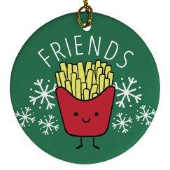 Best Friends Fries Ornament