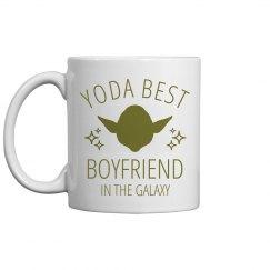 Yoda Best Boyfriend Jedi Gift
