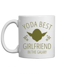 Yoda Best Girlfriend Sci Fi Nerd