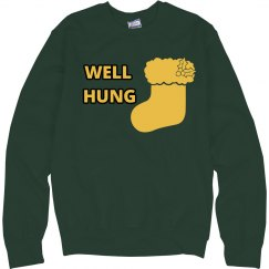 Well Hung Christmas Shirt