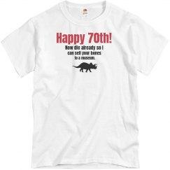 70th Dinosaur Birthday