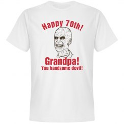 70th Birthday Boy