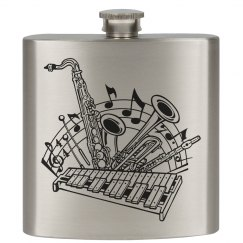 LA/Jazz Music Flask
