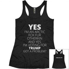 Fox Fur Otherkin Trump Supporter