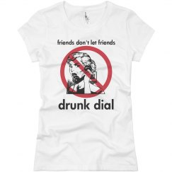 No Drunk Dialing