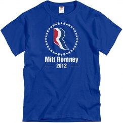 Romney Logo Stars