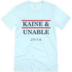 KAINE & UNABLE WHITE