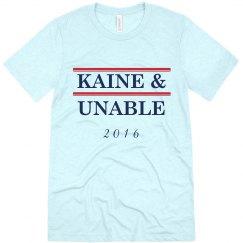 KAINE & UNABLE WHITE