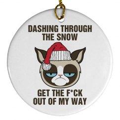 Grumpily Thru the Snow