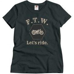 FTW - Let's ride.