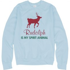Rudolph My Spirit Animal