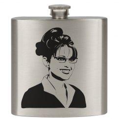 Sarah Palin Flask