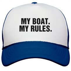 My Boat. My Rules.