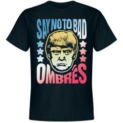 Bad Hombres Funny Anti-Trump Tee