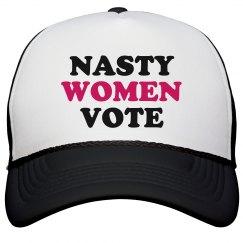 Nasty Women Vote Women's Rights