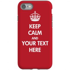 Custom Keep Calm Case