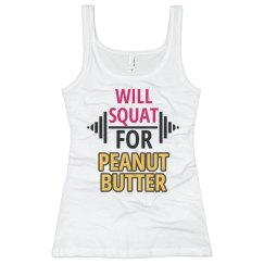 Will Squat For Peanut But